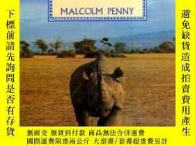 二手書博民逛書店Rhinos:罕見Endangered SpeciesY3621