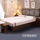 【TENDAYS】柔織舒壓床墊5尺標準雙人(20cm厚 記憶床)