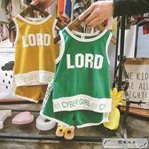 韓版男童套裝3兒童上衣2短袖嬰兒夏裝衣服純棉寶寶背心打運動服