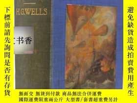 二手書博民逛書店1908年罕見H.G. Wells - The War in t