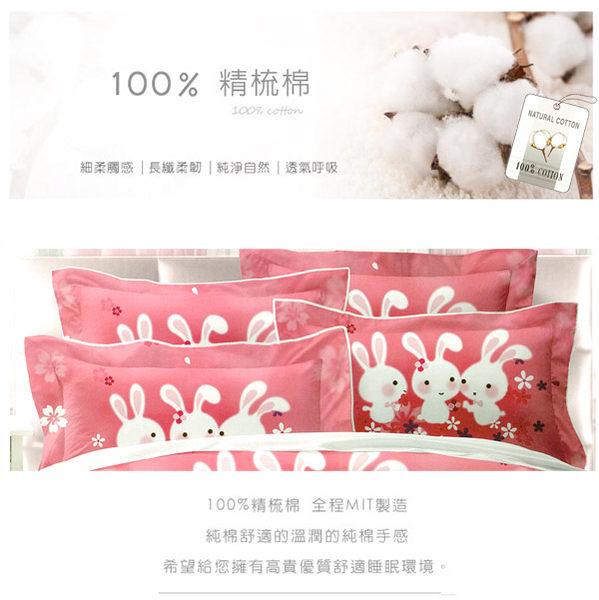 鋪棉床包 100%精梳棉 全鋪棉床包兩用被四件組 雙人特大6x7尺 king size Best寢飾 8825-1