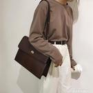 側背大包包女2020新款潮復古鱷魚紋手提公文包百搭ins大容量包 黛尼時尚精品