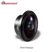 【EC數位】SUNPOWER ULTRA HD 7mm 魚眼微距 | 手機專業鏡頭 4K高清 趣味效果 185°全屏