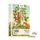 《 MiDeer 》藝術創意拼圖-松鼠與橡果子 / JOYBUS玩具百貨