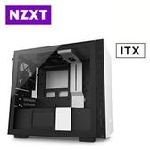 【綠蔭-免運】恩傑 NZXT H210 (4小) 白黑色 透側電競機殼