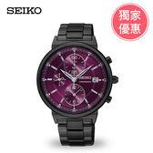 SEIKO精工三眼女錶(7T92-0VN0P) SNDV25P1