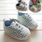 氣質格紋 清新格紋 彩色格子 軟膠底學步鞋.童鞋.室內鞋  橘魔法現貨 嬰兒 兒童 小童 男童