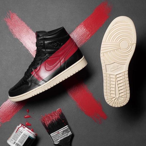 【現貨折後$8099】NIKE Air Jordan 1 Retro High OG Defiant Couture 禁穿 黑 紅 奶油底 喬丹 男鞋 BQ6682-006