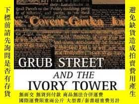 二手書博民逛書店Grub罕見Street And The Ivory Tower