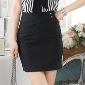 好康618 半身裙顯瘦一步裙韓版女裝包臀西裝裙