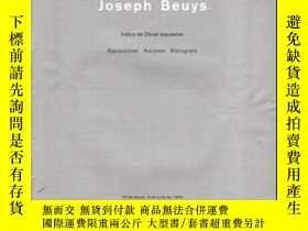 二手書博民逛書店Joseph罕見Beuys. Centre Georges Po