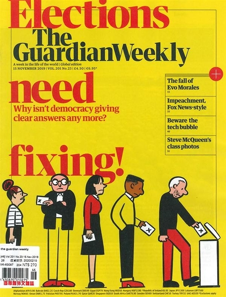 the guardian weekly 1115/2019