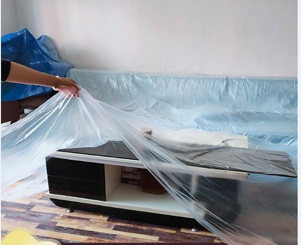 遮塵布 防塵布裝修家具保護膜防塵膜家用宿舍床遮蓋沙發遮蓋一次性防塵罩