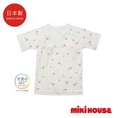 MIKI HOUSE BABY 日本製 小花新生兒紗布衣