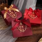 喜糖袋 新款中國風結婚喜糖禮盒手提袋子婚禮伴手禮回禮手拎袋禮品袋