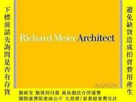 二手書博民逛書店Richard罕見Meier Architect: Volume