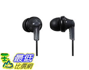 [美國直購] 耳機 Panasonic ErgoFit Best in Class In-Ear Earbud Headphones RP-HJE120-K Dynamic Crystal Clear Sound B003EM8008
