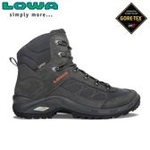 【LOWA 德國 男 TAURUS II GTX MID 中筒多功能健行鞋《深灰》】LW310526/登山鞋/中筒靴/徒步鞋