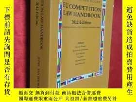 二手書博民逛書店EU罕見Competition Law Handbook 201