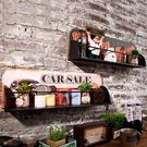壁掛創意復古酒吧墻上門口置物架壁掛奶茶店咖啡廳墻面軟裝飾品收納架 聖誕節禮物大優惠