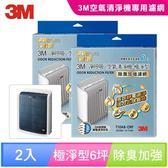 3M 專櫃淨呼吸空氣清淨機-極淨型6坪T10AB-ORF專用濾網(除臭加強濾網) (2入組)