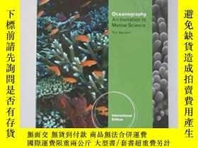 二手書博民逛書店罕見Oceanography-海洋學Y436638 Tom Garrison Brooks Cole, 201