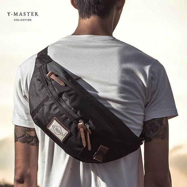 【愛瘋潮】正韓 人氣品牌 Y-MASTER 城市探險- 時尚質感韓版腰包 / 胸包 YP-01