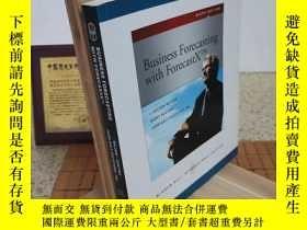 二手書博民逛書店Business罕見Forecasting with Forecastx Business Forecasting