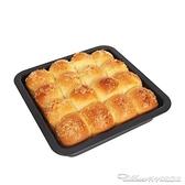 烤肉烤盤學廚烘焙模具8寸不粘正方形蛋糕餅乾點心糕點麵包披薩匹薩烤盤