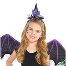 萬聖節 裝扮 華麗髮箍1入-女巫帽