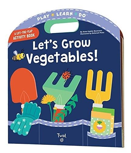 A Lift-The-Flap Activity Book:Let's Grow Vegetables 一起來種菜操作書
