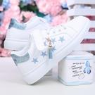 休閒鞋女 女童小白鞋2020軟底板鞋春秋季運動鞋小學生韓版童鞋8-10-12-16歲