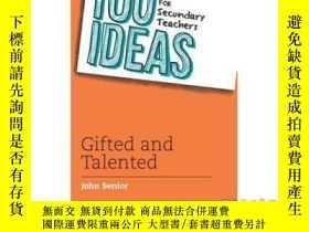 二手書博民逛書店100罕見Ideas for Secondary Teachers: Gifted a...-中學教師的100個想
