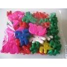 《 少年台製積木 》馬戲團積木 ( 74 PCS ) / JOYBUS玩具百貨