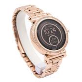 Michael Kors (MKT5022) 觸控式智慧手錶 MK 玫瑰金/42mm 女錶