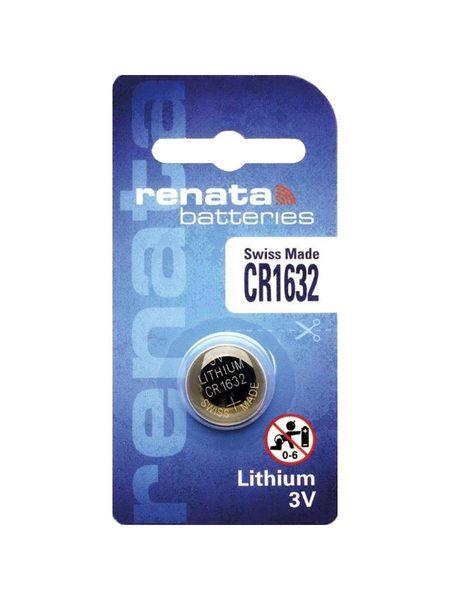 全館免運費【電池天地】Renata 手錶電池 鈕扣電池 鋰電池 CR1632 3V  單粒包裝