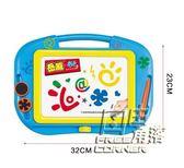 彩色磁性畫板兒童寫字板大號磁力幼兒涂鴉寶寶畫畫小孩繪畫小玩具 自由角落