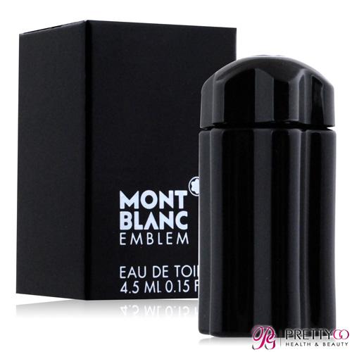 MONTBLANC 萬寶龍 EMBLEM 男性淡香水迷你瓶(4.5ML)【美麗購】