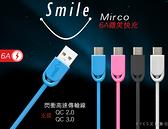 【HANG R4微笑6A高速1米】安卓 Micro V8 SONY三星HTC華碩OPPO小米LG富可視 傳輸充電線旅充線