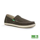 SANUK  復古帆布休閒鞋-男款1015975 BRN (咖啡色)