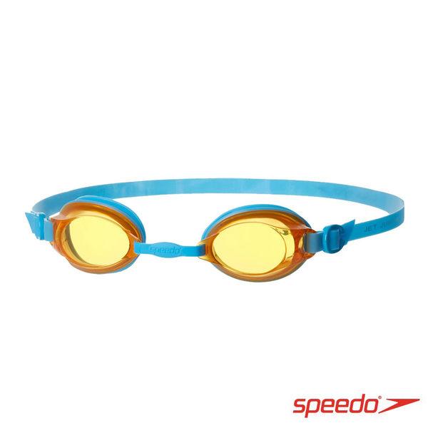 ║speedo║兒童泳鏡 Jet藍橘