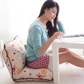 【奶油獅】台灣製造-和室房必購-可拆洗搖滾星星胖胖和室椅-米色