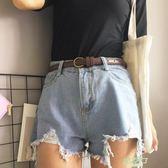 (超夯免運)復古學生小皮帶簡約百搭韓版bf風裝飾細腰帶配裙chic女士牛仔褲帶