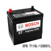 BOSCH電瓶 S5 EFB啟停專用T110L 120D31L 汽車電池【亞克】