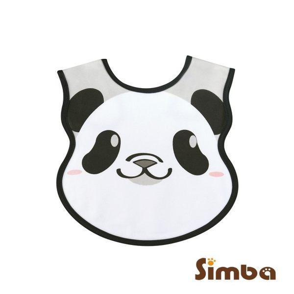 小獅王辛巴 Simba 大貓熊圓仔造型圍兜