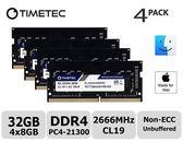 Timetec海力士IC 32GB套件(4x8GB)相容Apple 2019 iMac 27吋Retina 5K顯示器