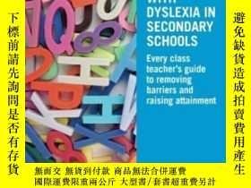 二手書博民逛書店Supporting罕見Students With Dyslex