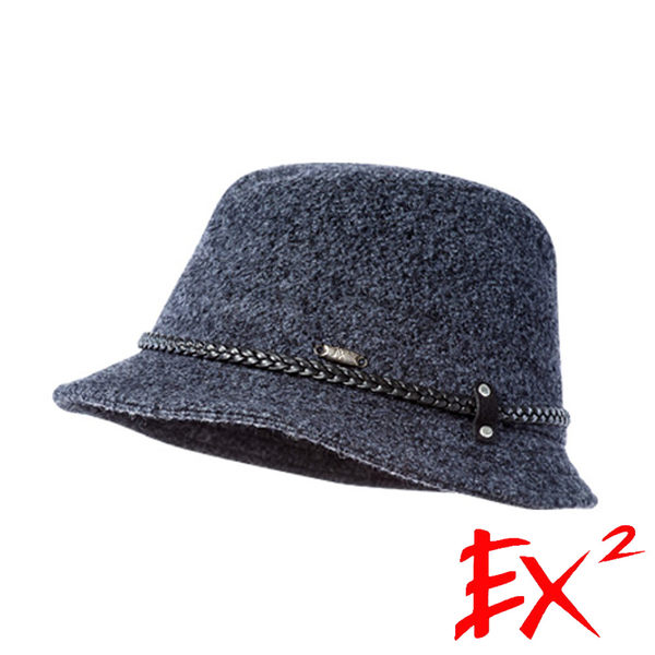 EX2 保暖淑女帽『暗灰』362211 露營│旅遊│戶外│保暖帽│小禮帽│紳士帽
