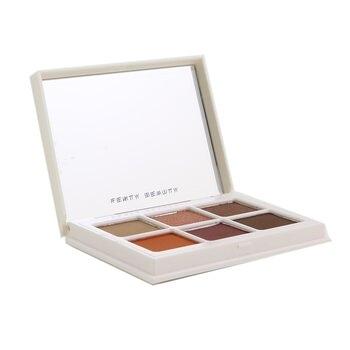 sW FENTY BEAUTY BY RIHANNA-17 眼影盤 Snap Shadows Mix & Match Eyeshadow Palette (6x Eyeshadow)- # 3 Deep Neutrals (Spicy Warm