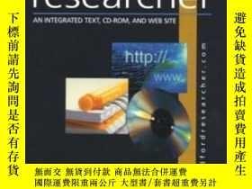 二手書博民逛書店The罕見Bedford Researcher With Cd-rom: An Integrated Text C